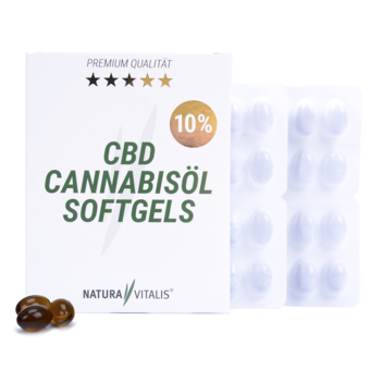 CBD Cannabisöl Softgels 10%